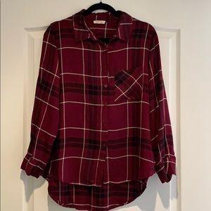 Soft plaid shirt